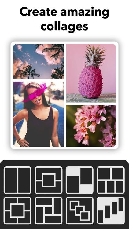 Picso Photo Collage Maker Grid