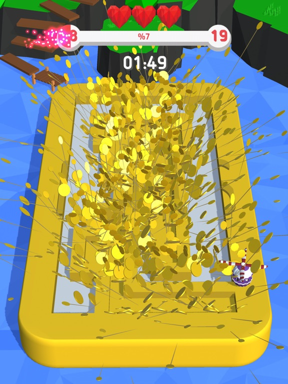 Happy Copter : 3D screenshot 7