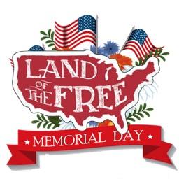 Happy Memorial Day Icon