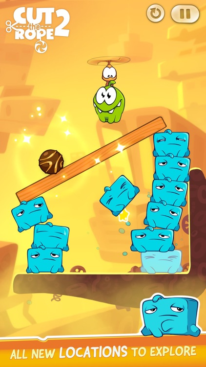 Cut the Rope 2: Om Nom's Quest screenshot-2