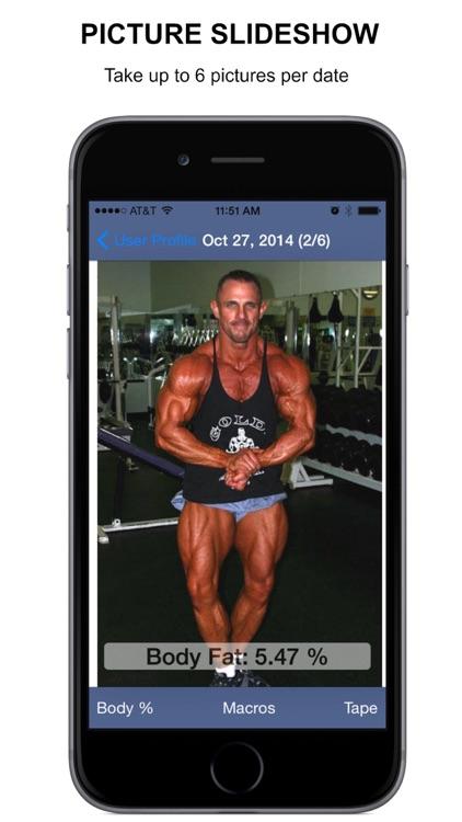 Body Tracker - body fat calc screenshot-3