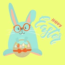 Happy Easter 2019 Cute Sticker