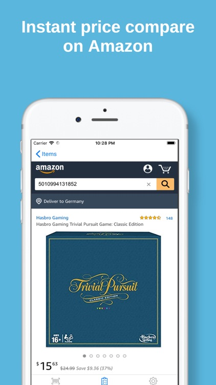 Barcode Scanner for Amazon US