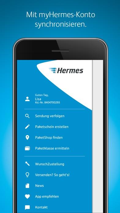 Hermes PaketversandScreenshot von 3