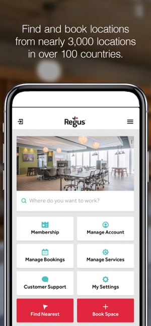 ba7efe9b990 Regus Offices & Meeting Rooms on the App Store