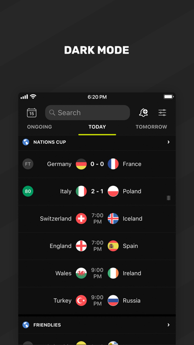 Screenshot for FotMob Live Football Scores in Estonia App Store
