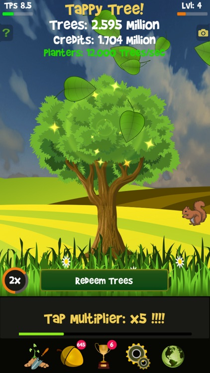 Tappy Tree - Idle Clicker Game screenshot-7