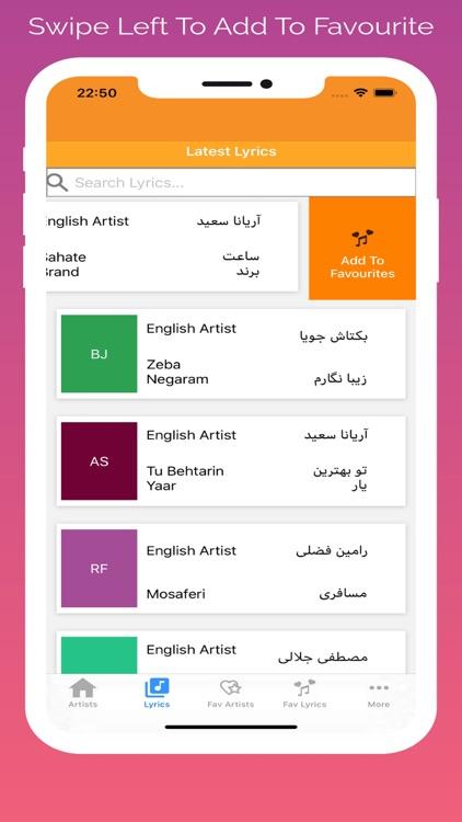 Afghan Song Lyrics screenshot-6