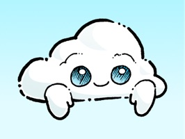 Oliver Cast The Cloud Stickers