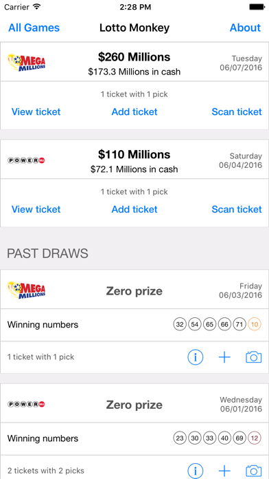 messages.download LottoMonkey: Scan Lottery software