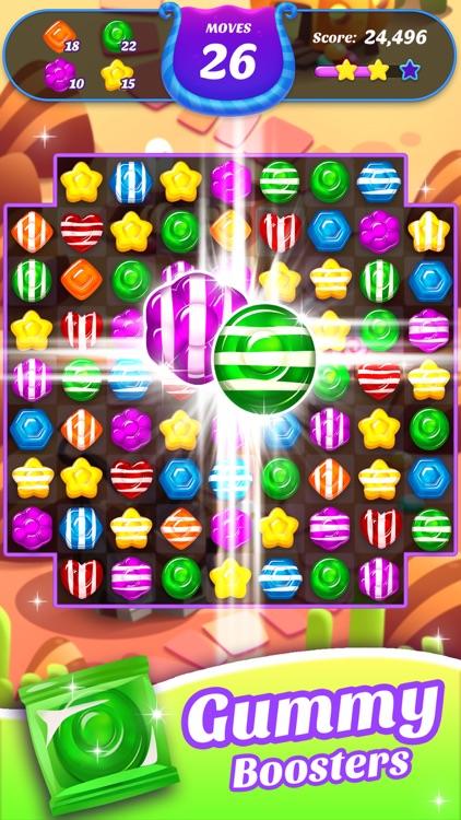 Gummy Candy Blast!Match 3 Game