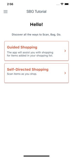 Scan, Bag, Go on the App Store