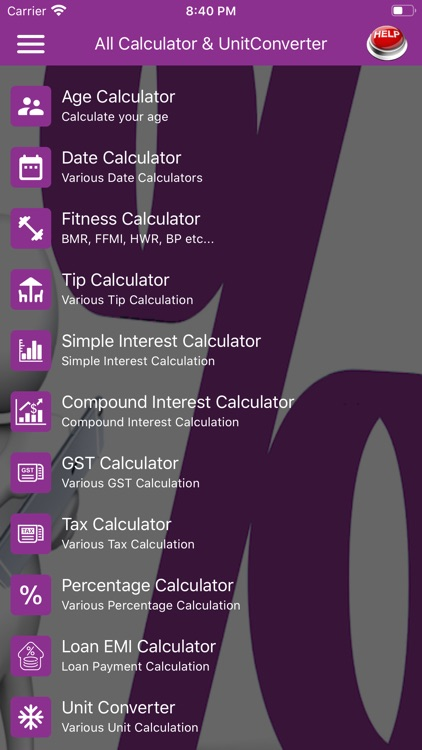 Interest Calculator ::
