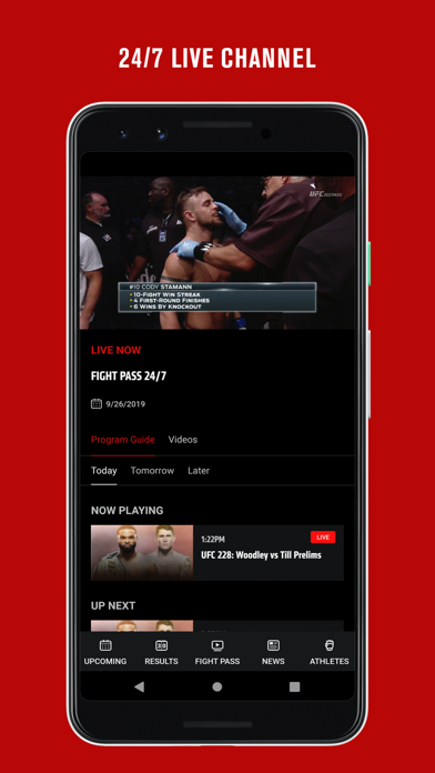 UFC ® Screenshot