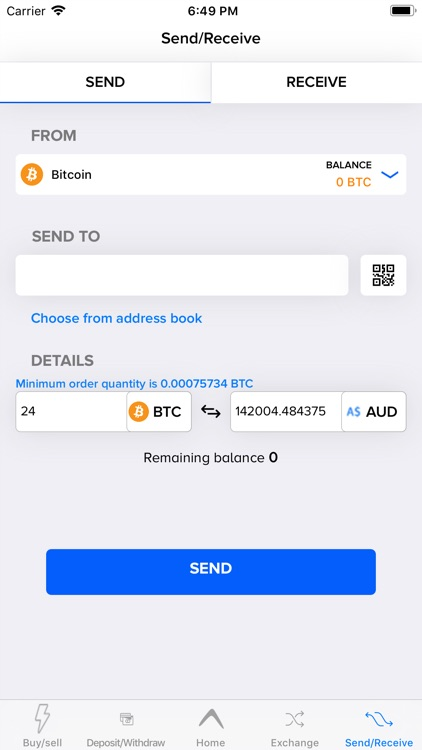 cryptocurrency aud exchange