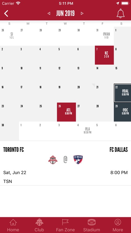 Toronto FC Mobile screenshot-1