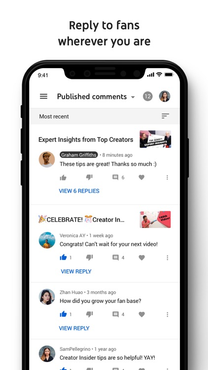 YouTube Studio screenshot-4