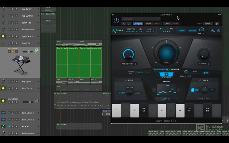 Video Manual For Auto Tune EFX for Mac