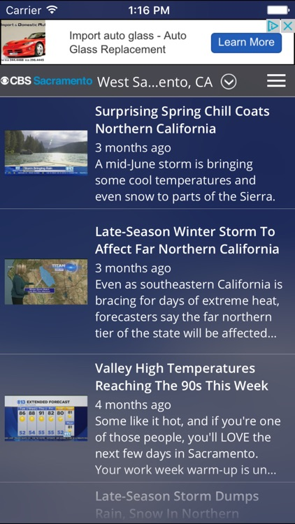 CBS Sacramento Weather screenshot-4