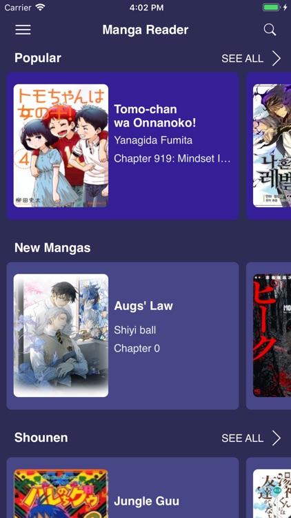 Manga Reader - Updated Daily