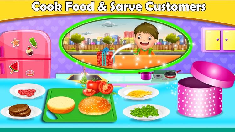 Food Truck Kitchen Chef