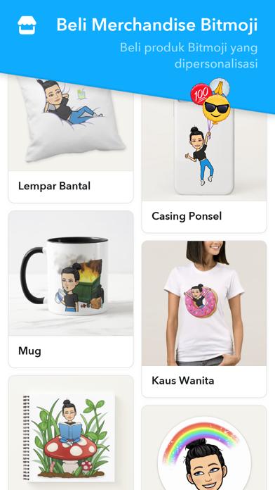 Screenshot for Bitmoji in Indonesia App Store
