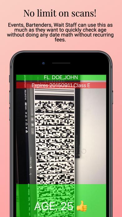 21+ Age Check ID Scanner Screenshot
