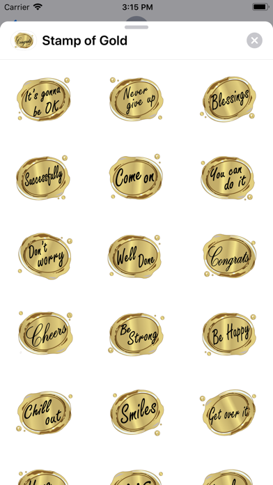 Stamp of Gold screenshot 1