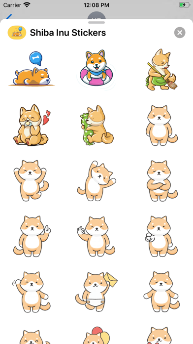 Shiba Inu Stickers screenshot 2