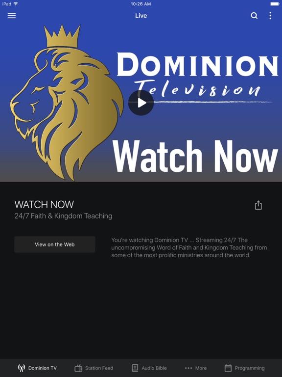Dominion TV screenshot 4