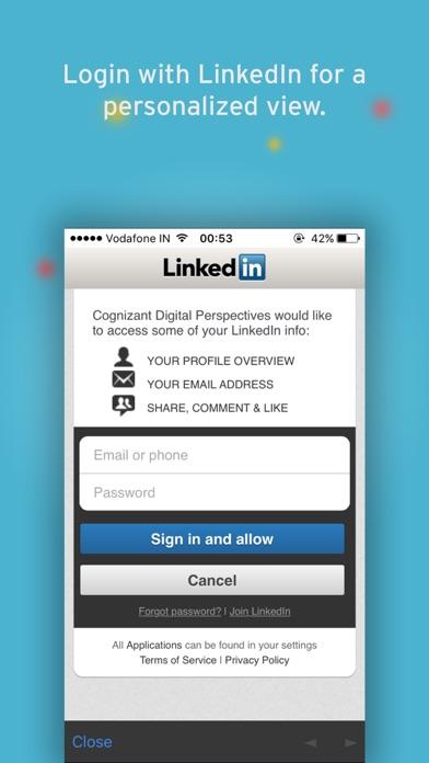 Cognizant Digital Perspectives screenshot three