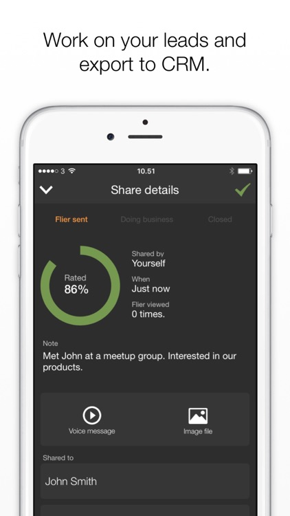 Flier - Business networking screenshot-4