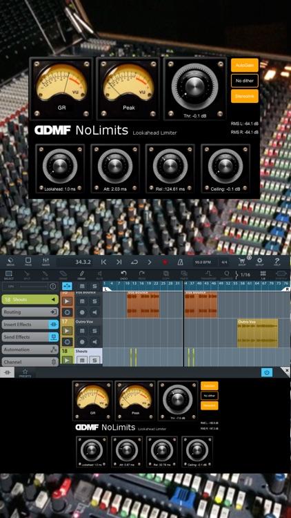 NoLimits AU Limiter by DDMF