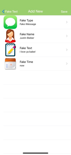Fake Text Message - on the App Store