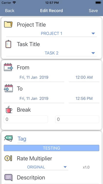 iParaV Time Management