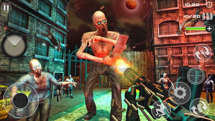 Zombie Shooting-Survival Games screenshot-3