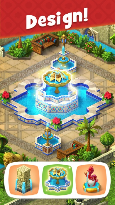 Screenshot for Gardenscapes in Turkey App Store