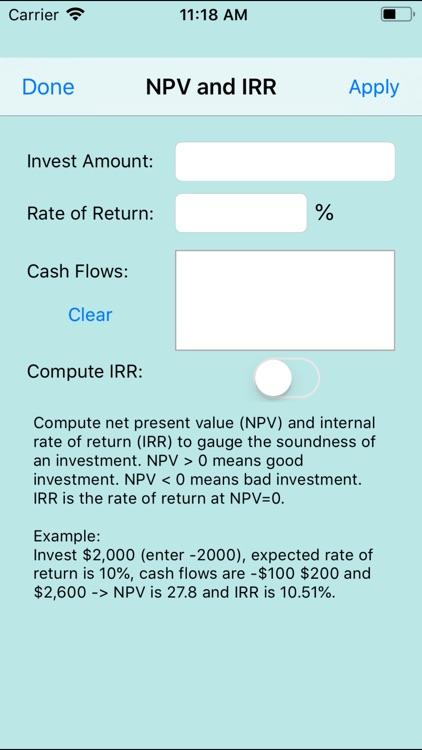 888 Financial Calc screenshot-7