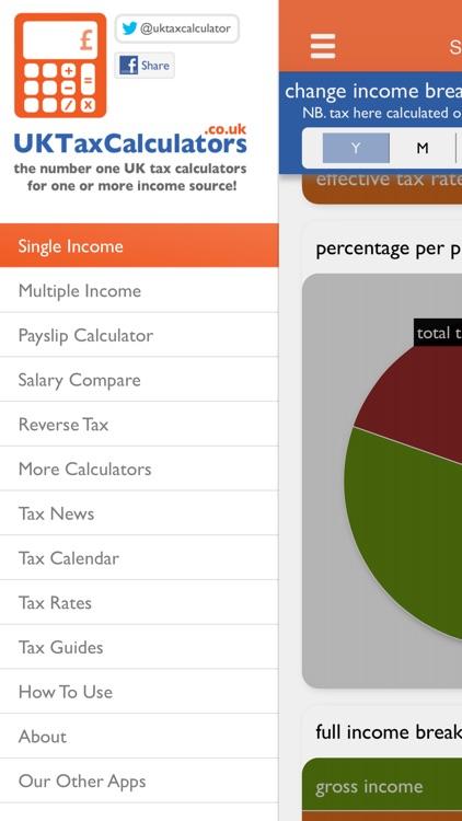 UK Tax Calculators 2019-2020 screenshot-4