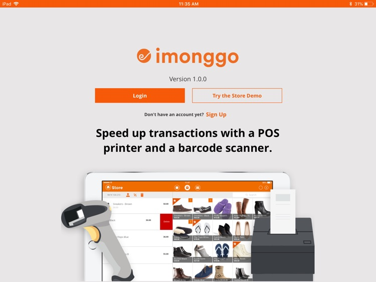 Point of Sale (POS) by Imonggo screenshot-0