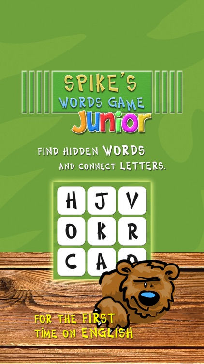 Spike's Word Game Junior screenshot-1