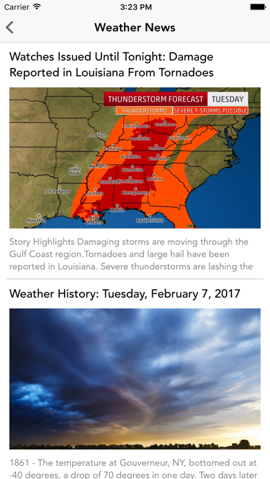 Local Weather Radar & Forecastのおすすめ画像4