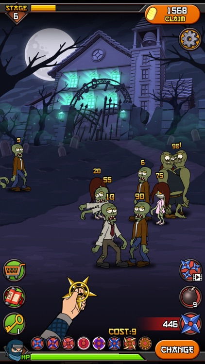 Zombies vs Ninja screenshot-3