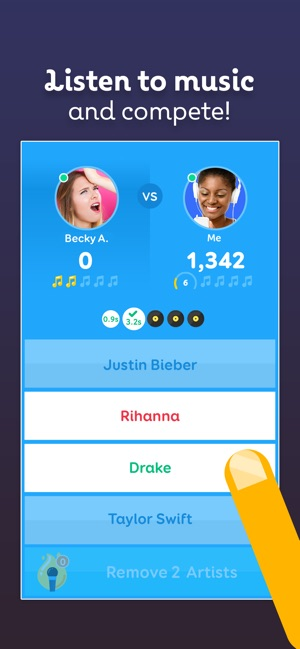 SongPop 2 - Musik-Ratespiel Screenshot