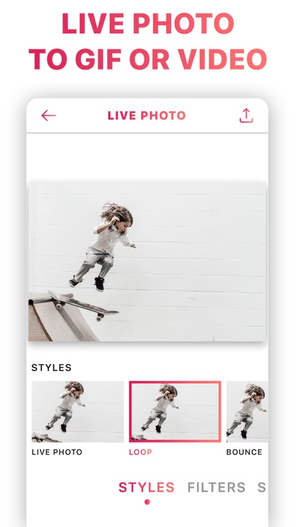 Motion Photo to Live Video Gif