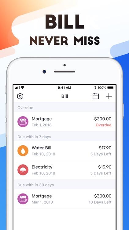 Pocket Expense 6 screenshot-4