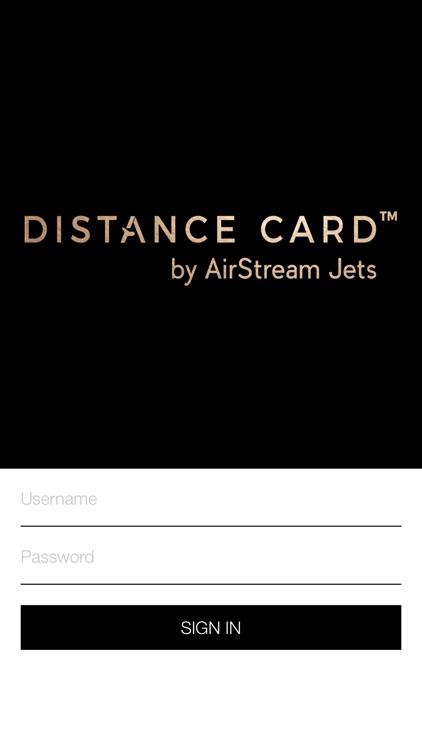 DISTANCE CARD™