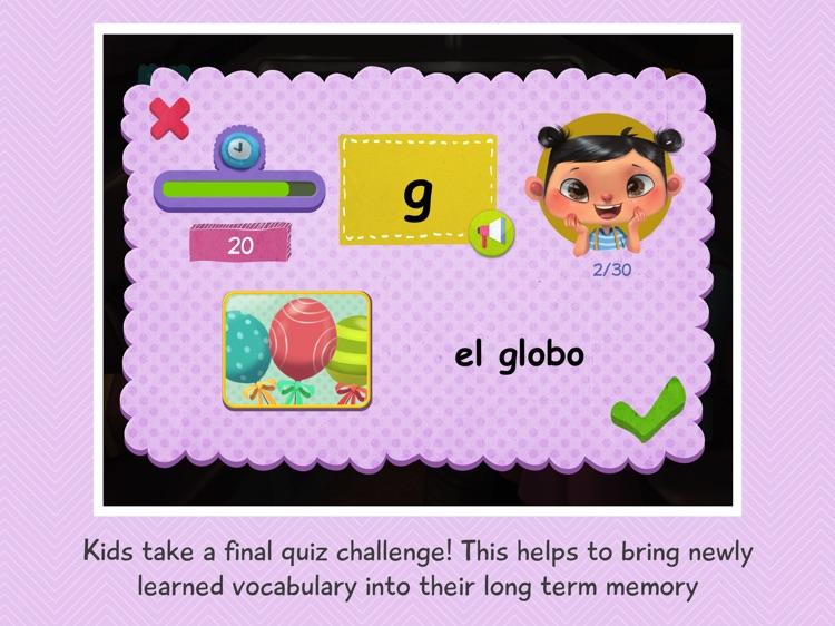 Yaya Learns Spanish screenshot-3