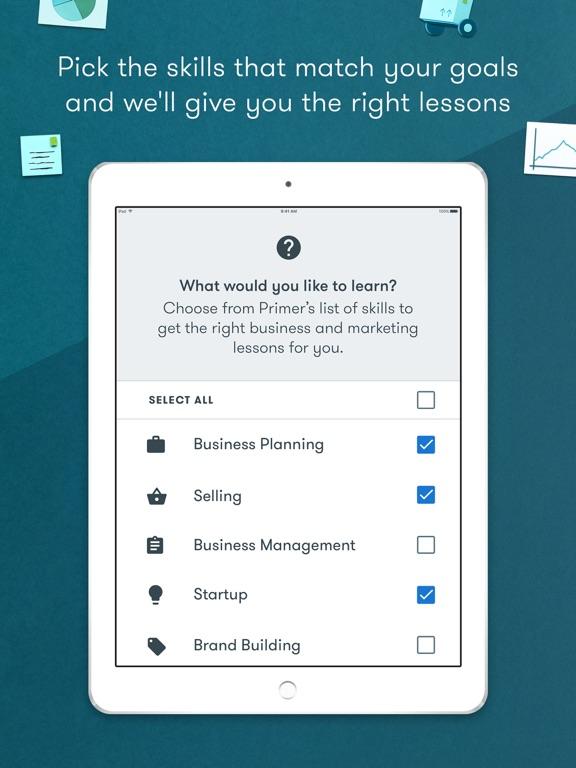 Primer | Marketing Lessons from Google screenshot