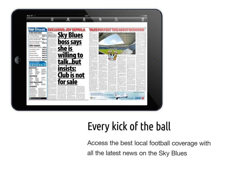 Coventry Telegraph Newspaper